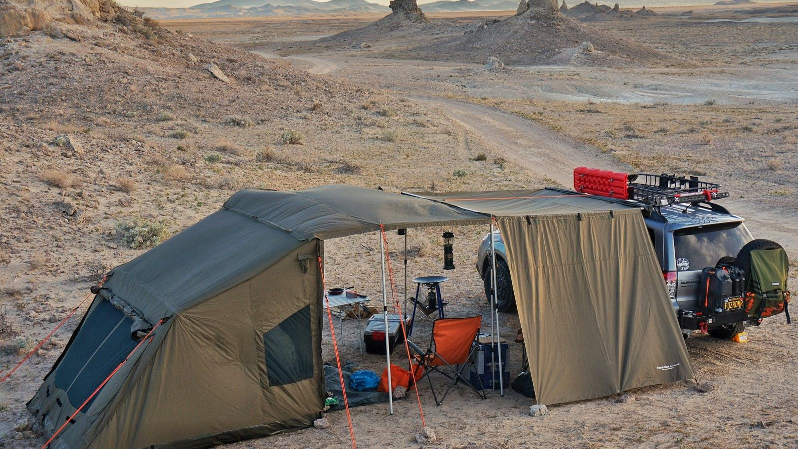 Image Result For Oztent Rv5 And Side Awning Subaru