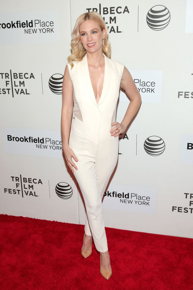 daef2821991 January Jones in Prabal Gurung at the premiere of  Good Kill  during the  2015 Tribeca Film Festival. Photo  Jemal Countess Getty Images for the 2015  Tribeca ...