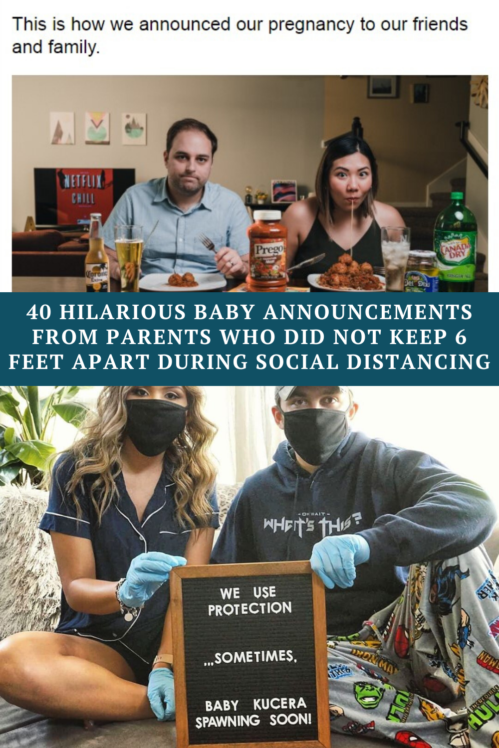 40 Hilarious baby announcements from parents who d