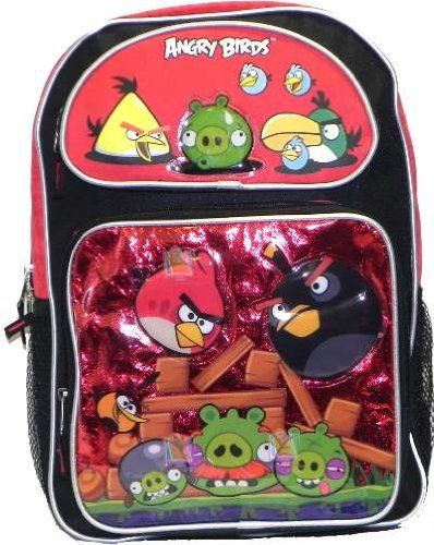 16' Angry Birds Red Pocket Backpack-tote-bag-school -- Be sure to check out this awesome product.