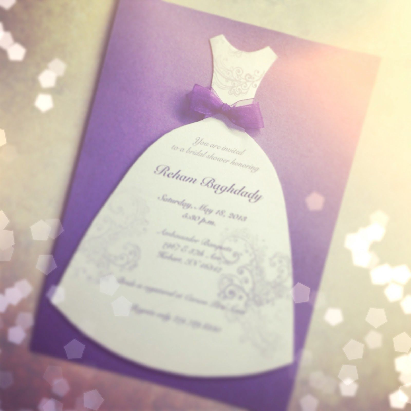 Easy Diy Bridal Shower Invites