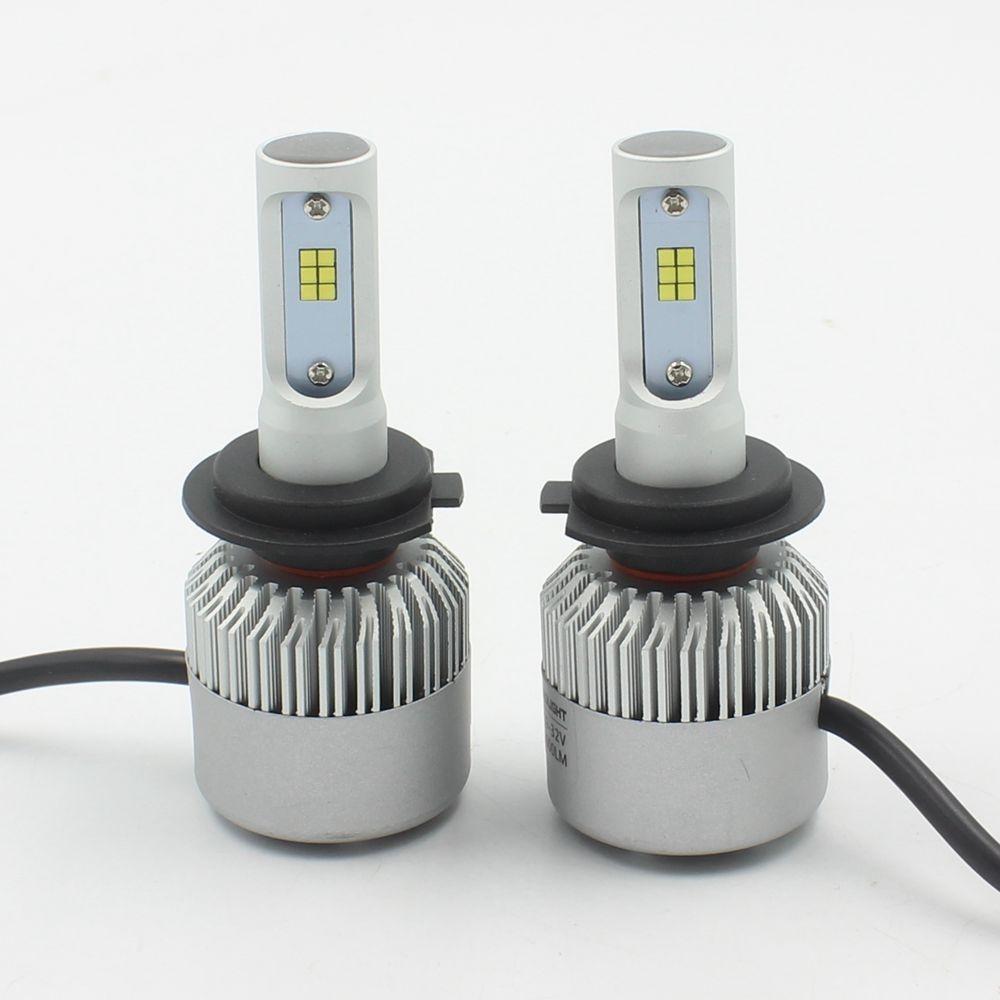 46.90$  Buy here - http://alim20.worldwells.pw/go.php?t=32785216778 - 80W 7200LM 9005 HB3 LED Lamp Headlight Kit Car Beam Bulbs 12V Upgrade 6000k H7 H11 46.90$