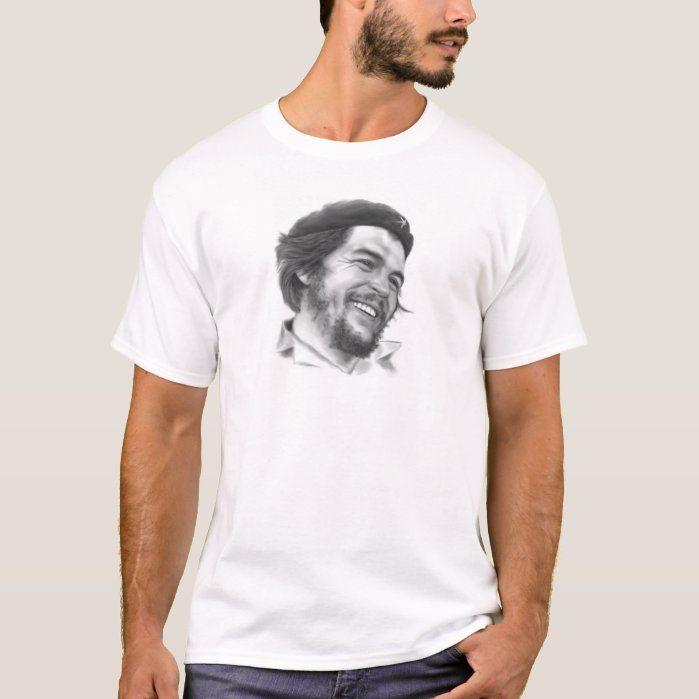 Ernesto Che Guevara, Communist Revolutionary T-shirt, Men's, Size: Adult M, White