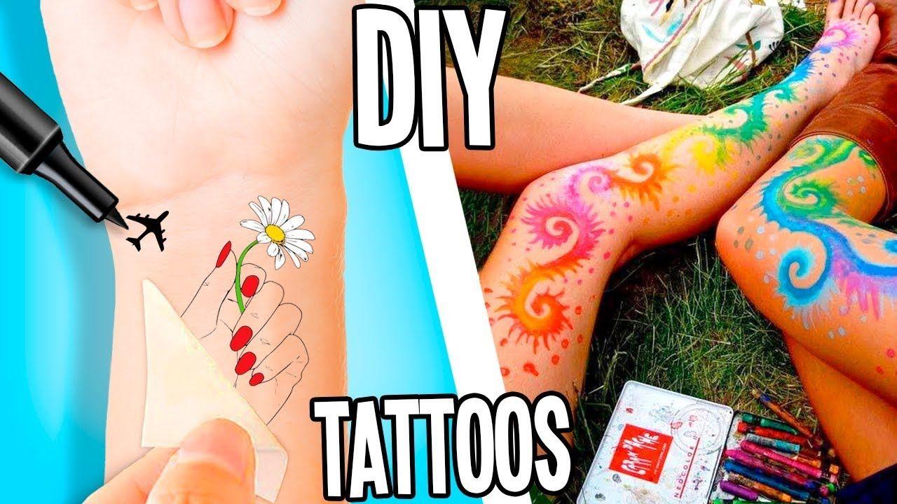 Photo of DIY Temporary Tattoos At Home | 5 Waterproof Methods! Super EASY