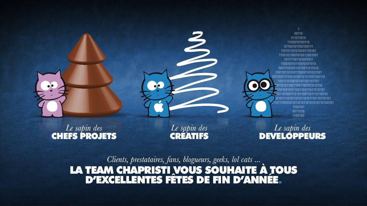 La Team Chapristi vous souhaite d'excellentes fêtes de fin d'année !