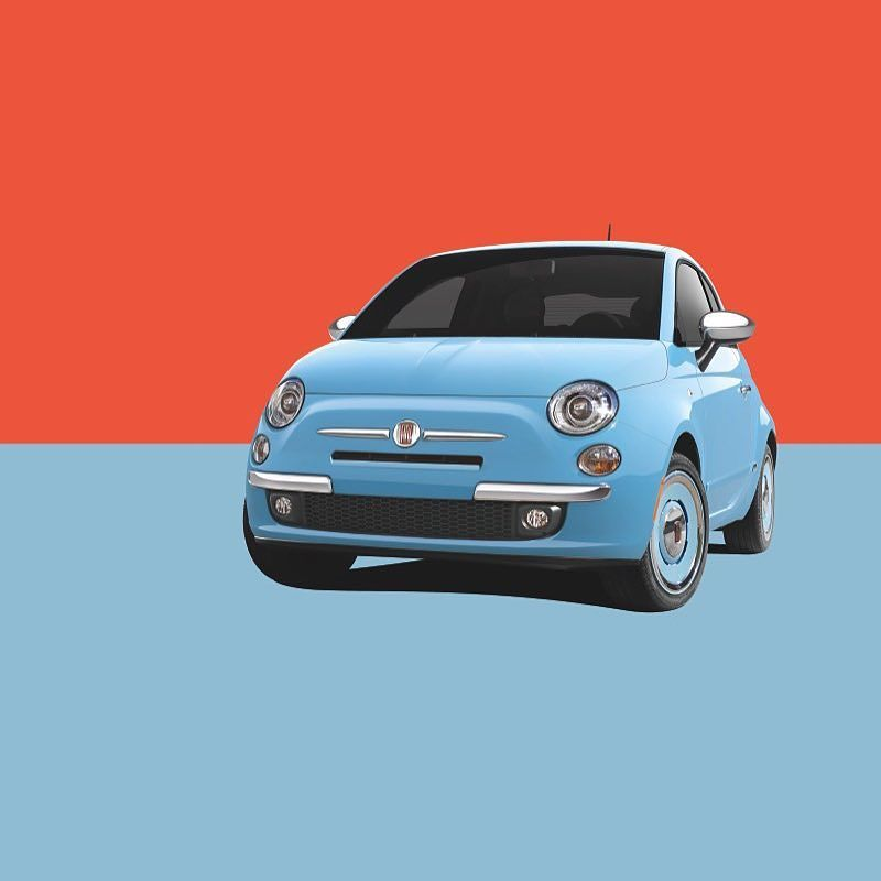 Art comes in many forms. The #FIAT500 1957 Edition.  # #FIAT #FIATUSA #Ciaobaby #FIATlove #500Love #FIATfamily #Italian #CarPorn #CarsWithoutLimits #ItalianStyle #ItalianCar #crossover #cars #auto #car #automotive #drive #autos #instacar #caroftheday #cargram #style #1957 #art #color #bright