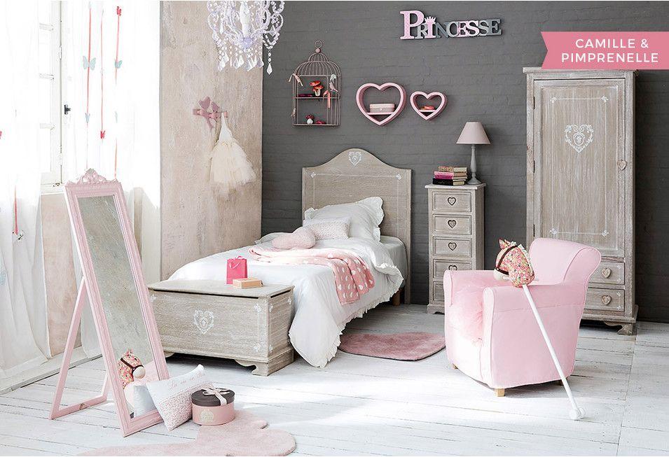Letti A Baldacchino Maison Du Monde : Dormitorio de niña muebles e ideas de decoración maisons du
