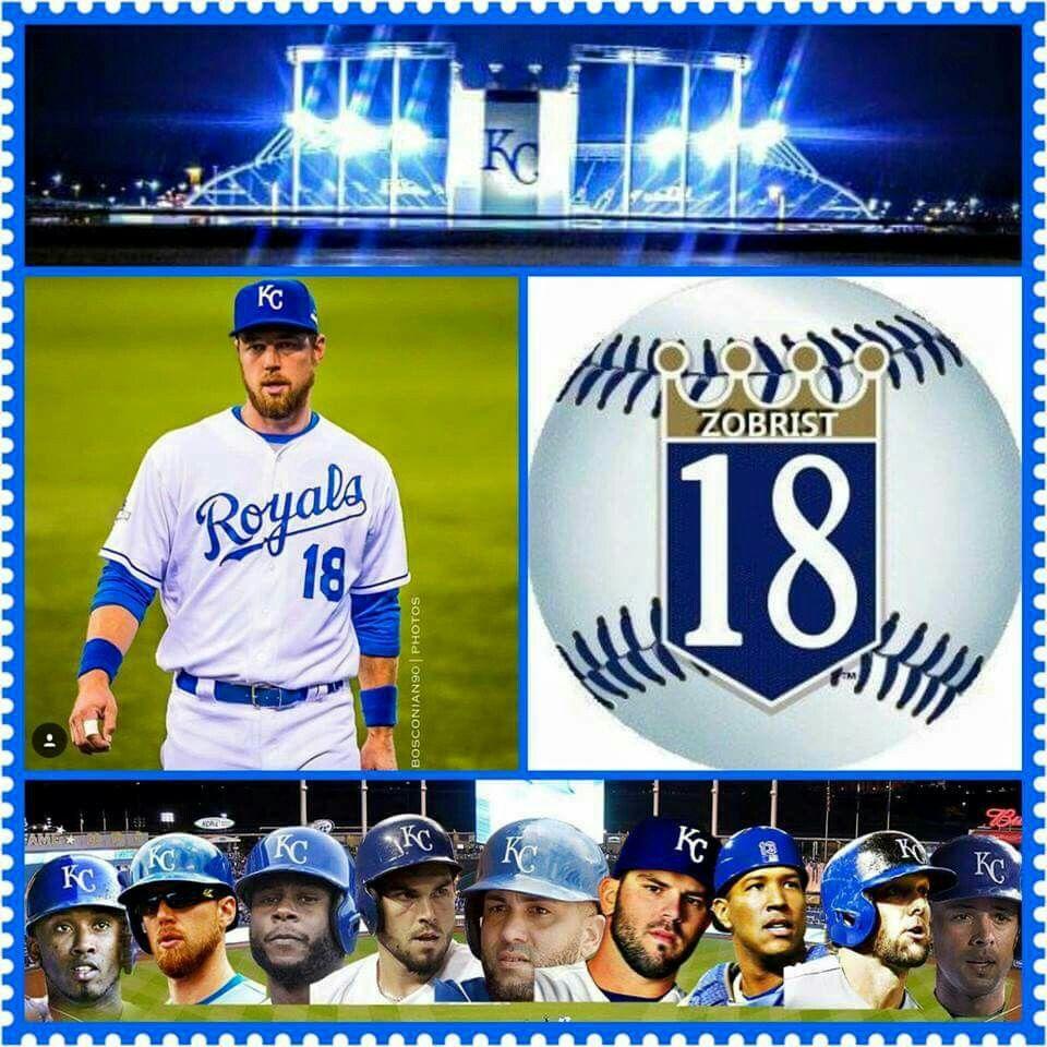 Ben Zobrist With Images Kc Royals Baseball
