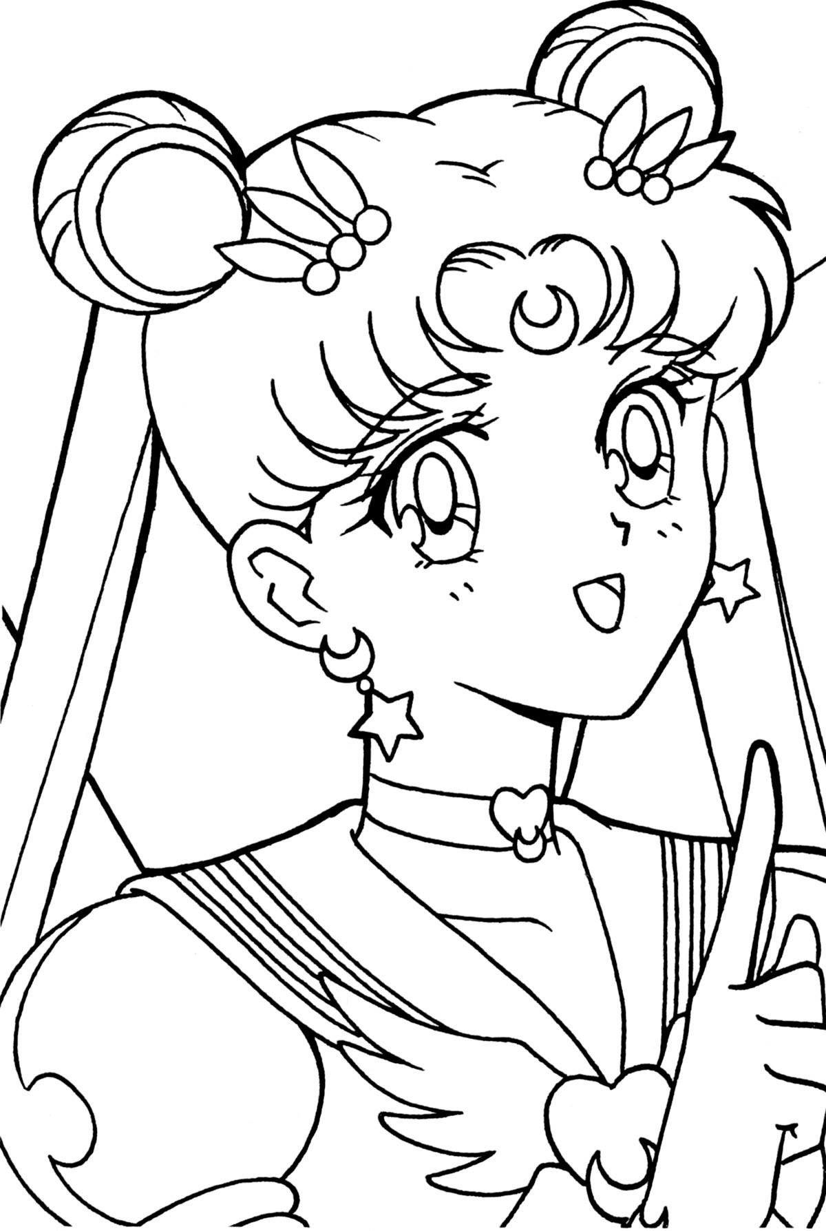 Sailor Moon Coloring Book Xeelha En 2020 Dibujos De Sailor Moon Sailor Moon Nerd