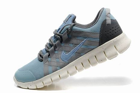 hot sale online 0f350 9e71a Nike Free Powerlines Premium Mens Running Shoe Water Blue Grey. Nike Shoes  On SaleDiscount ...