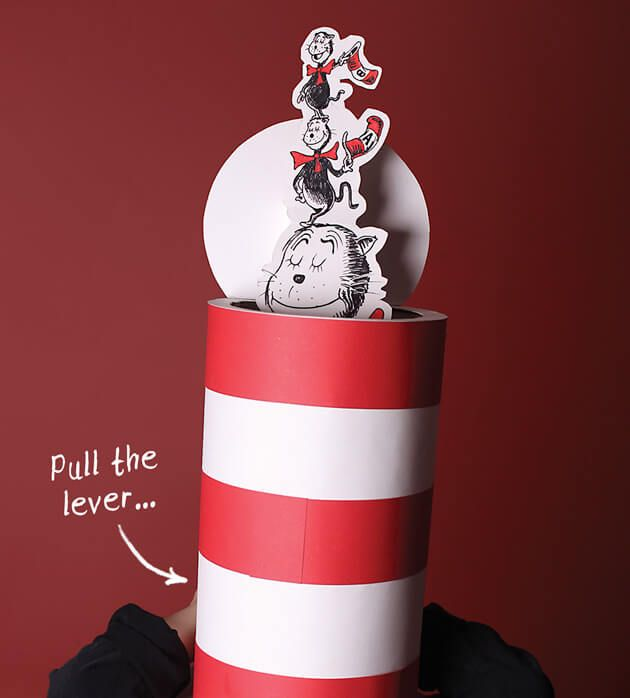 Cat in the Hat costume - with pop-up cats
