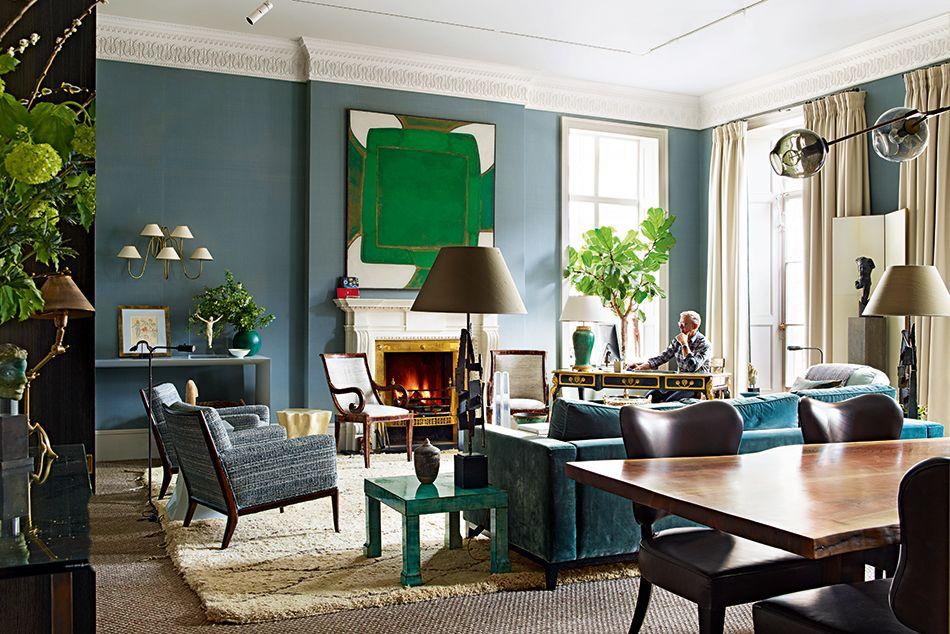 Traditional decor · douglas mackie house garden 100 leading interior designers