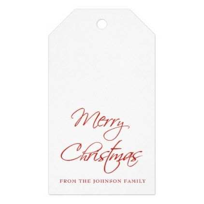merry christmas script custom gift tags merry christmas diy xmas