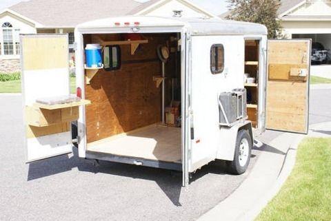 Cargo Trailer Campers