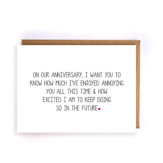 Funny Anniversary Card For Him Paper Anniversary Cards For Husband Cards For Anniversary Cards For Husband Funny Anniversary Cards Anniversary Cards For Him