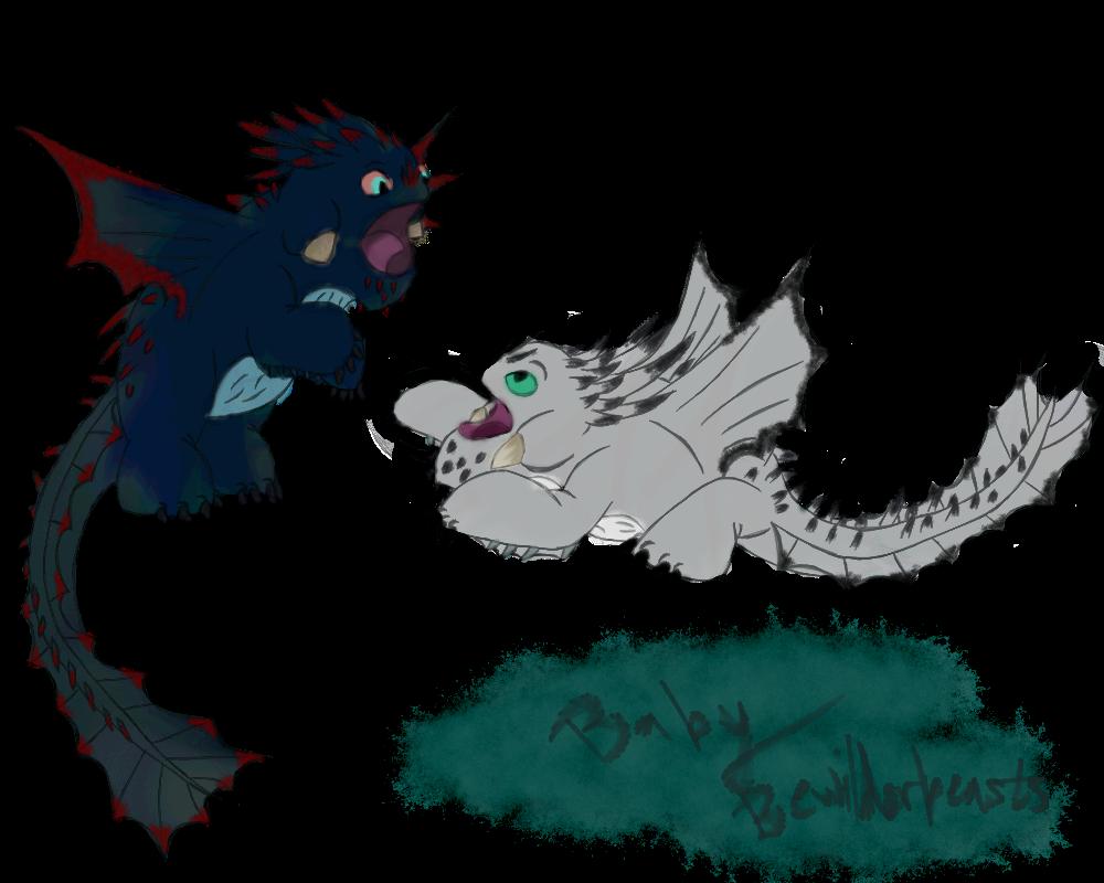 Baby Bewilderbeasts By Alkryearth17 Dragon Drawing Dragon Sketch Httyd Dragons