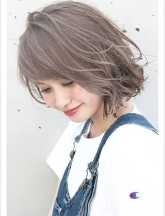 アッシュグレー Google 検索 髪色 グレージュ 髪 色 ヘアカラー 夏