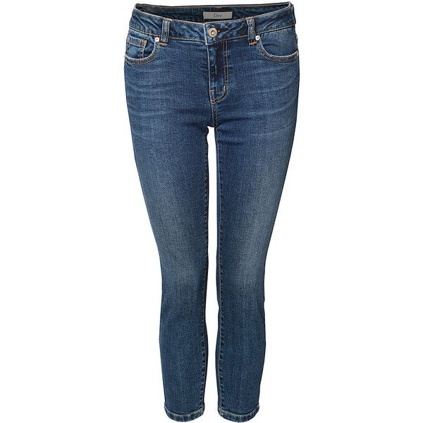 Dex Dark Royal Madison Skinny Jeans ($45) ❤ liked on Polyvore ...