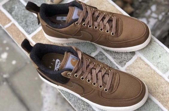 79695a4ef1f2 Another Look At The Carhartt WIP x Nike Air Force 1 Low Ale Brown Today we