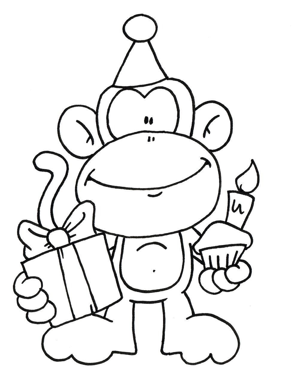 Free Birthday Digi Stamps Clipart - Free Clipart | Digi ...