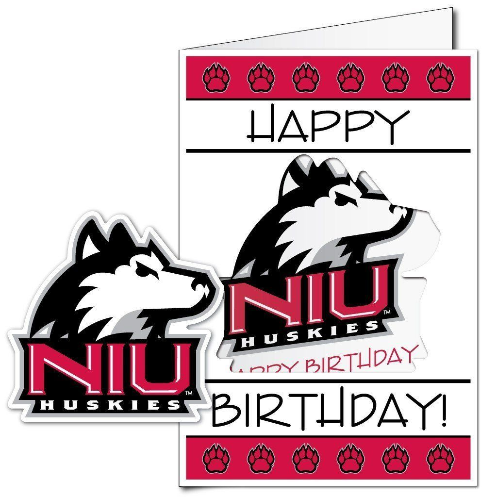 Northern Illinois University 2 X3 Giant Birthday Greeting Card Plus A Bonus Yard Sign Free Shipping In 2021 Birthday Greeting Cards Birthday Greetings Northern Illinois University