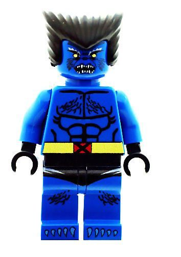 The Beast From X Men Xmen Custom Designed Minifigure Tượng