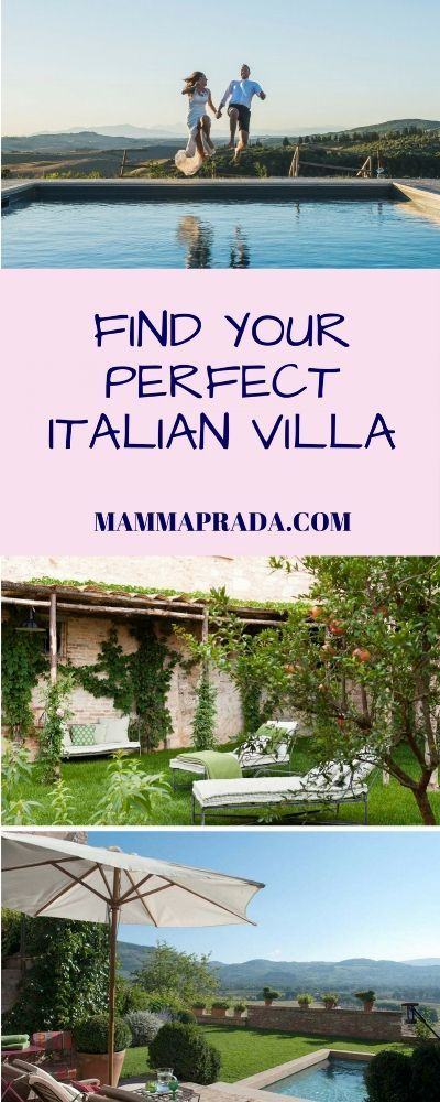 Are you looking for the Perfect Italian Villa Holiday Here we have the solution 12 different villas to suit any group and any interests
