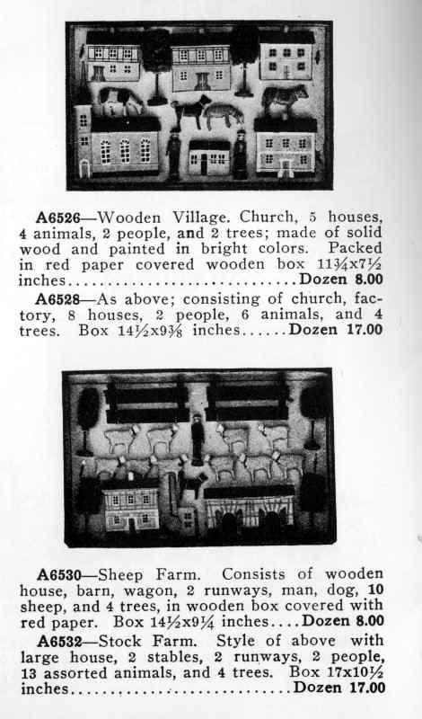 1914 Marshall Fields Catalogue Doll S House Miniatures Dollhouse