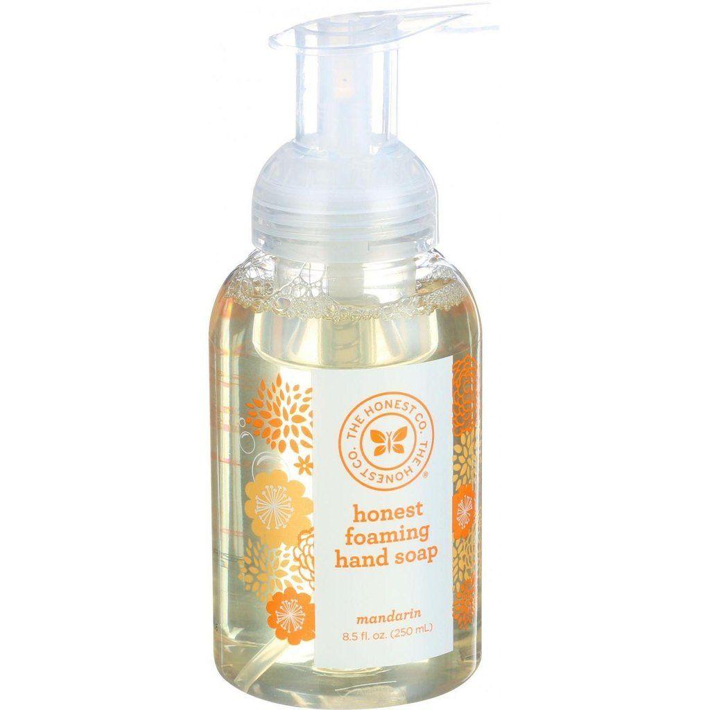 The Honest Company Honest Hand Soap Foaming Mandarin 8 5 Oz
