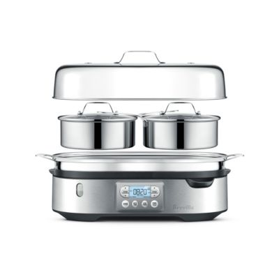 Breville The Steam Zone Brushed Stainless Steel Kitchen Appliances Design Breville