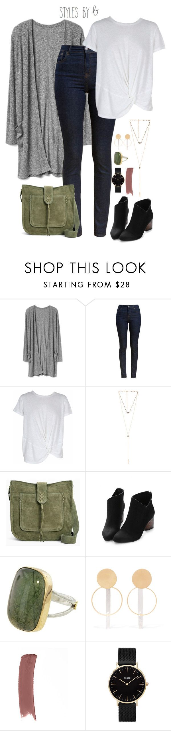 """""""Untitled #749"""" by bryanaellen ❤ liked on Polyvore featuring Barbour, MINKPINK, 8 Other Reasons, Annie Costello Brown, Gucci and CLUSE"""