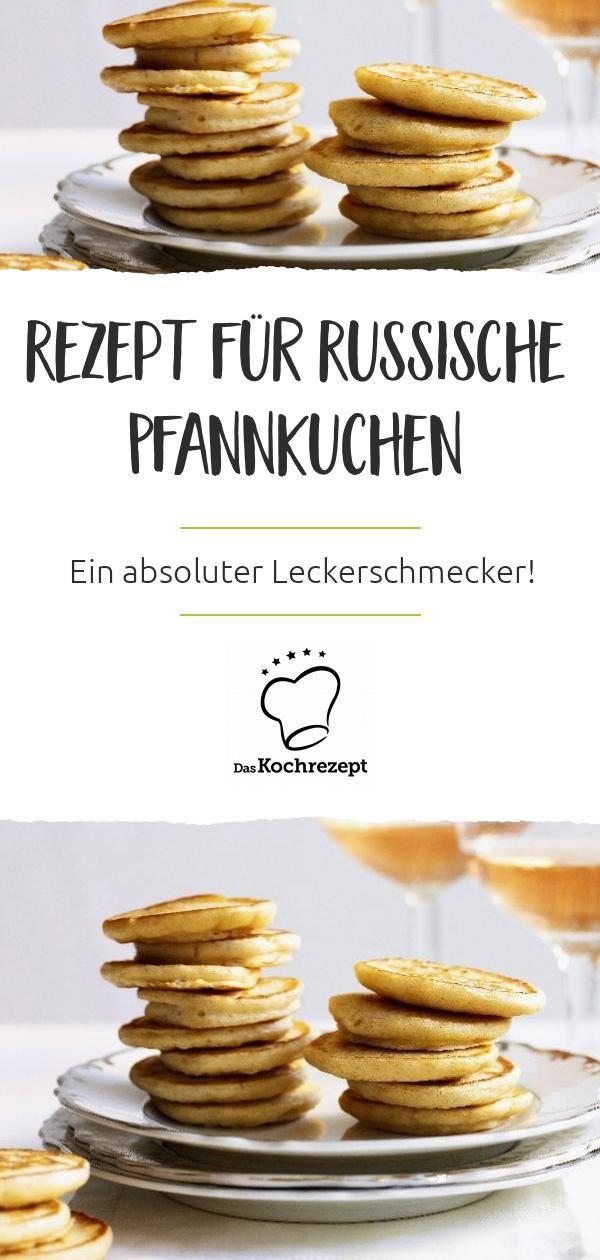 Photo of Rezept für Russische Pfannkuchen