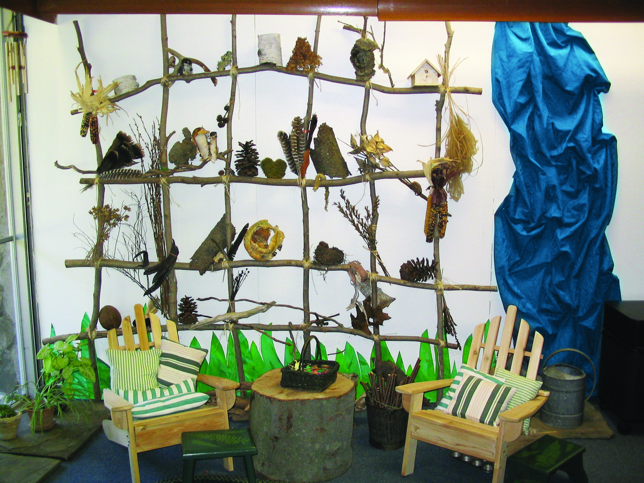 How To Build A Nature Wall Connecting Young Children With Nature