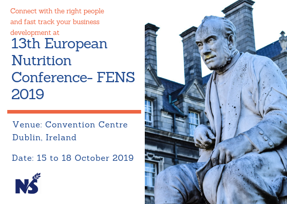 13th European Nutrition Conference- FENS 2019 | Health and