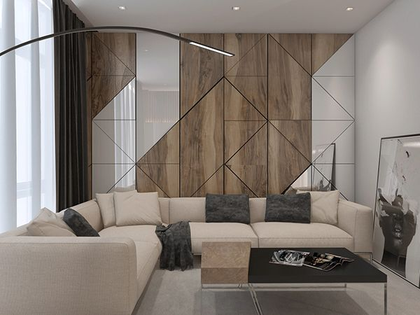 Apartament In Modern Style Room Interior Bedroom Interior Wall Panel Design