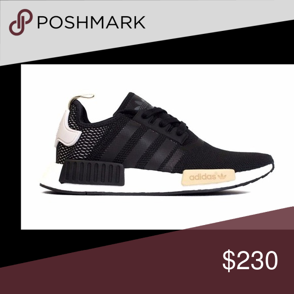 8af5cafa13556 NWT Adidas NMD Runner Casual Shoes Black