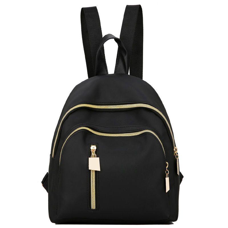 6c4fcaa176 Women s Water Resistant Nylon Mini Backpack Rucksack Daypack Cute Bag Travel