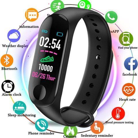 HIXANNY Smart Uhr Frauen Herz Rate Monitor Blutdruck..