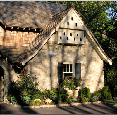 Dovecote In Gable End Of House Garden Inspiration