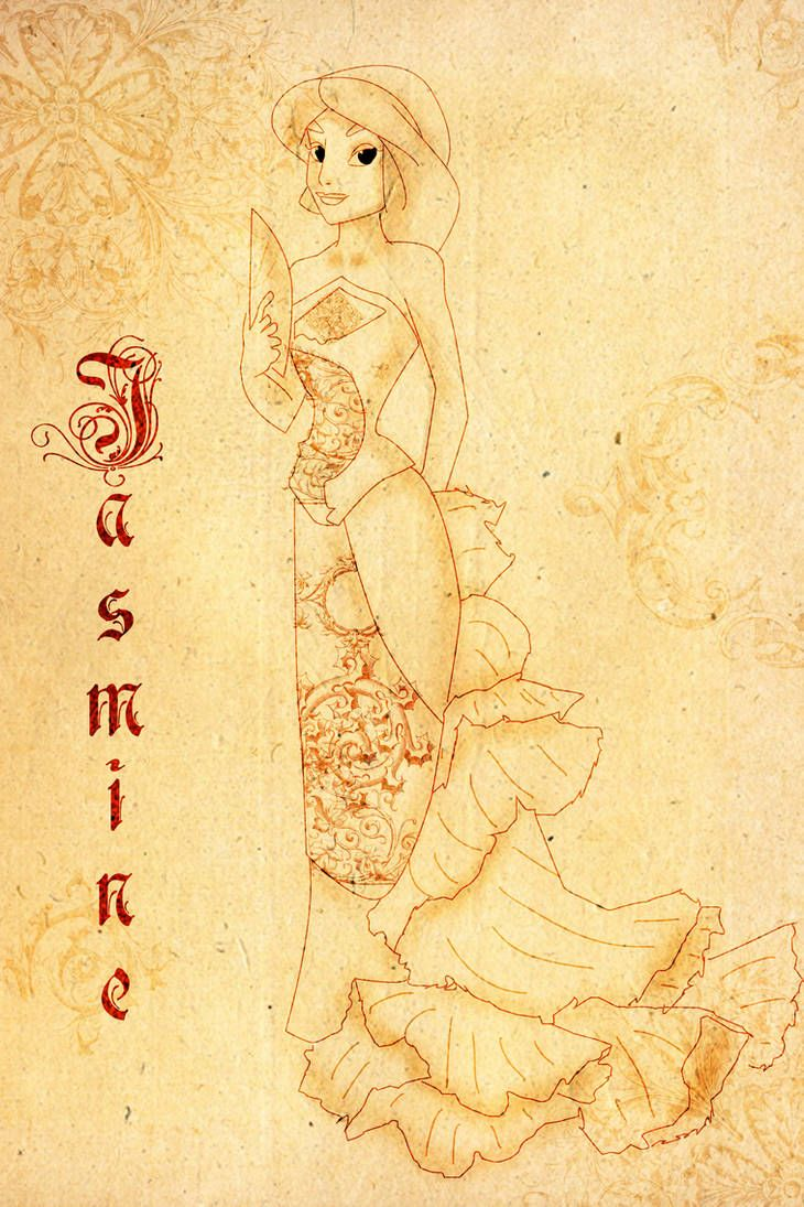 Paper Jasmine by Sonala on DeviantArt