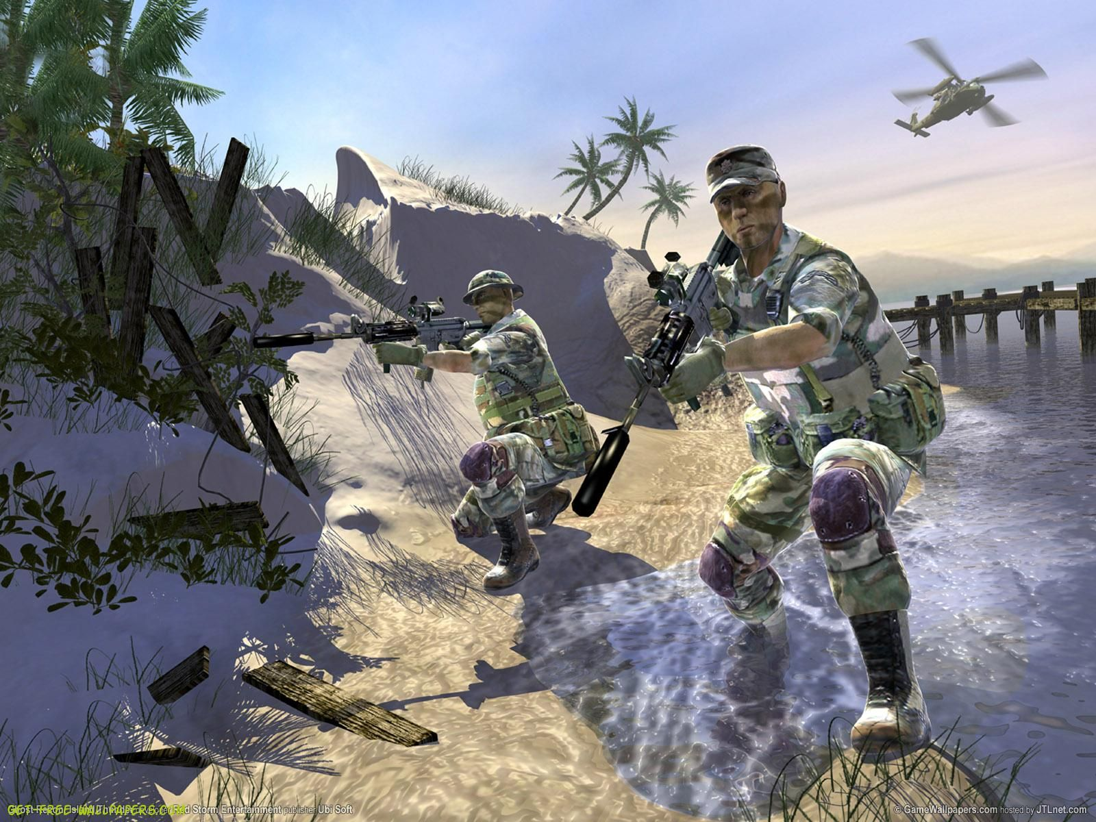 Tom Clancy S Ghost Recon Island Thunder Pc Tom Clancy Ghost
