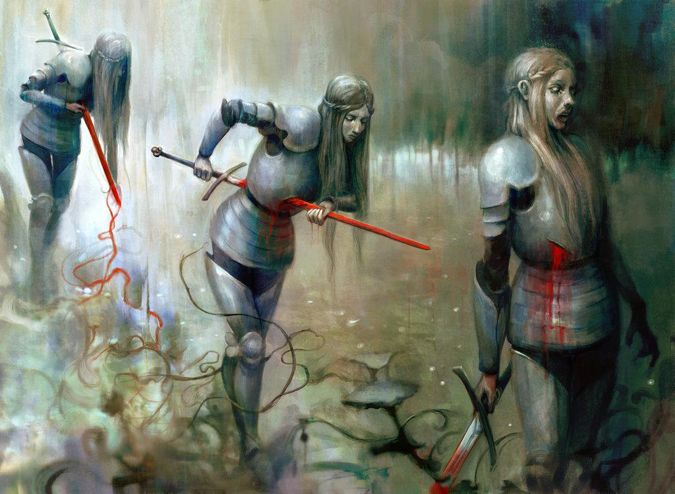 Grim Return By Seb Mckinnon Art Bloodborne Art Mtg Art