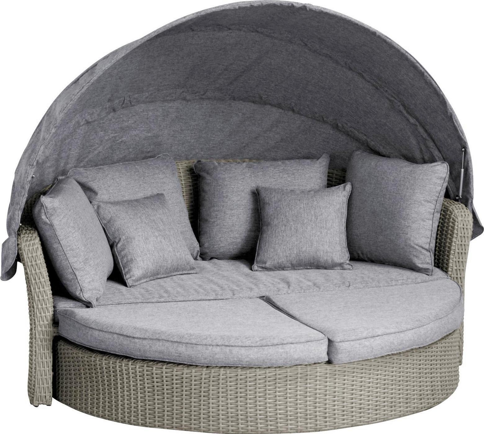 Grosszugige Sonneninsel Fur Den Garten Gartenlounge Outdoor Furniture Furniture Outdoor Bed