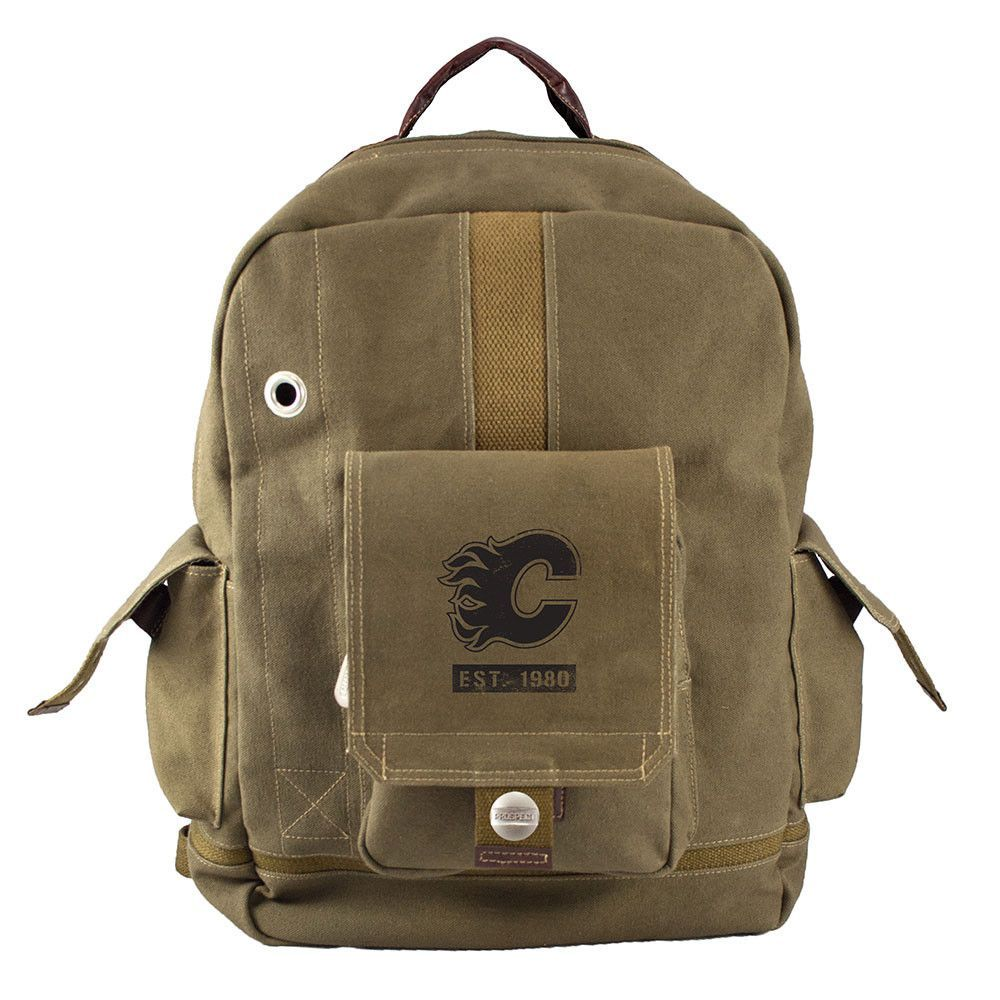 Calgary Flames NHL Prospect Deluxe Backpack