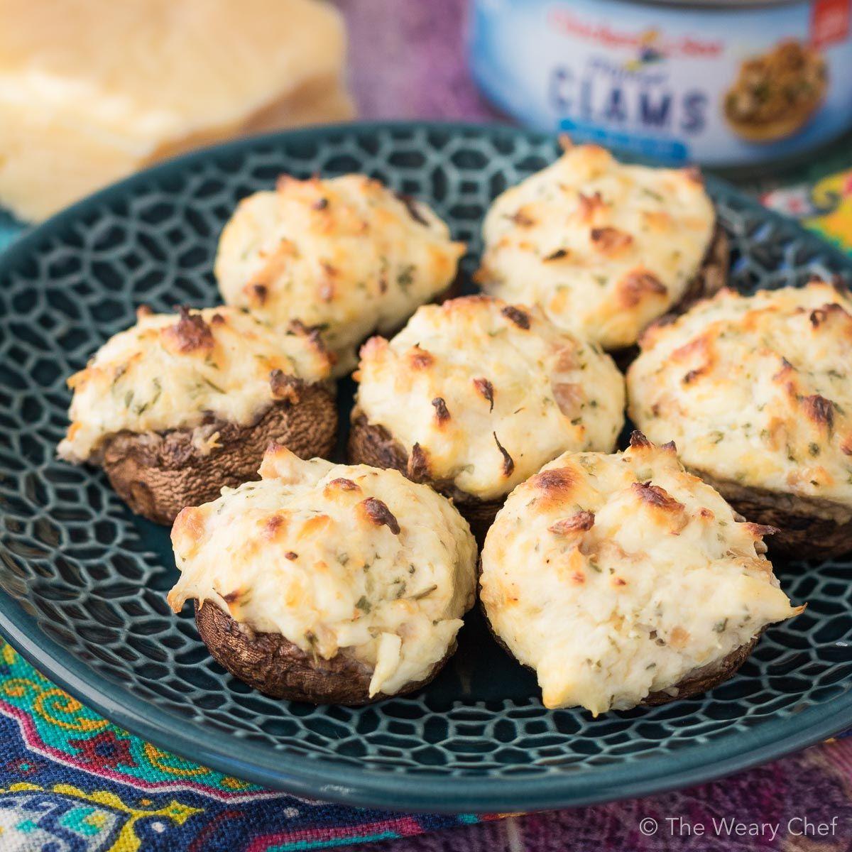 Photo of Easy Seafood Stuffed Mushrooms