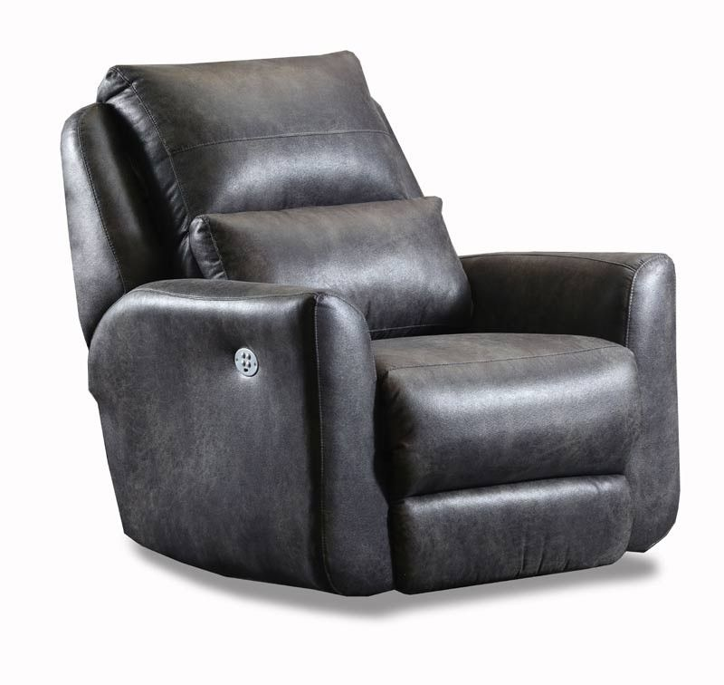 Southern Motion Producer Wall Hugger Recliner With Power Headrest 6716p Wall Hugger Recliners Southern Motion Rocker Recliners