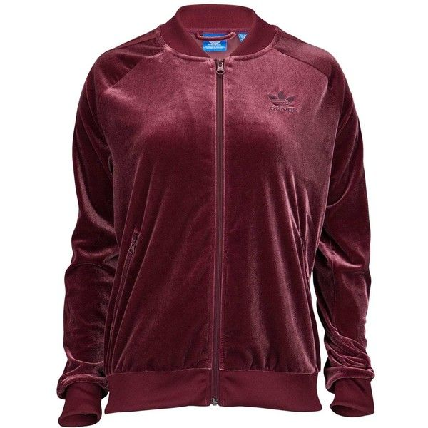 cf05111901d3 adidas Originals Velvet Vibes Track Top - Women s - Casual - Clothing... ❤  liked on Polyvore featuring tops
