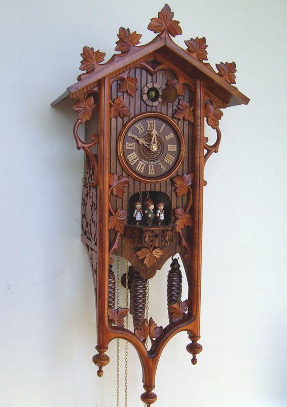 Reloj De Cuco Mecánico Relojes De Pared Antiguos Reloj De Cuco Relojes De Pared
