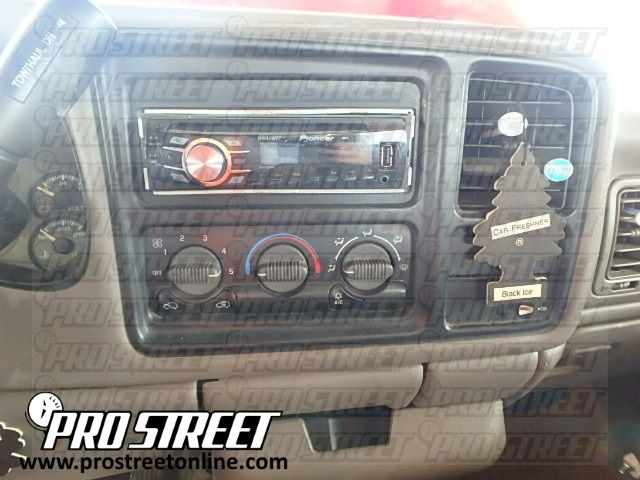 How To Chevy Silverado Stereo Wiring Diagram Auto Pinterest