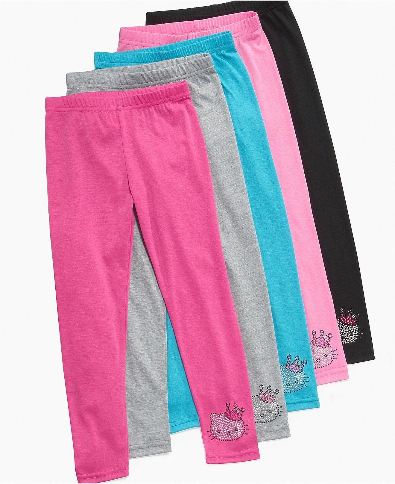 d03ded44b Hello Kitty Kids Leggings, Little Girls Basic Leggings - Kids Girls 2-6X -  Macy's